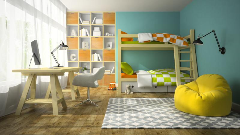 wyposażenie pokoju dziecka